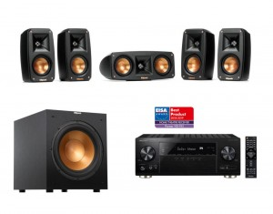 Pioneer  VSX-933 + Klipsch Reference Theater + R12SW