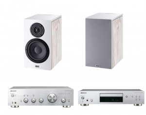 Pioneer A-40+PD30+ Heco Aurora 300